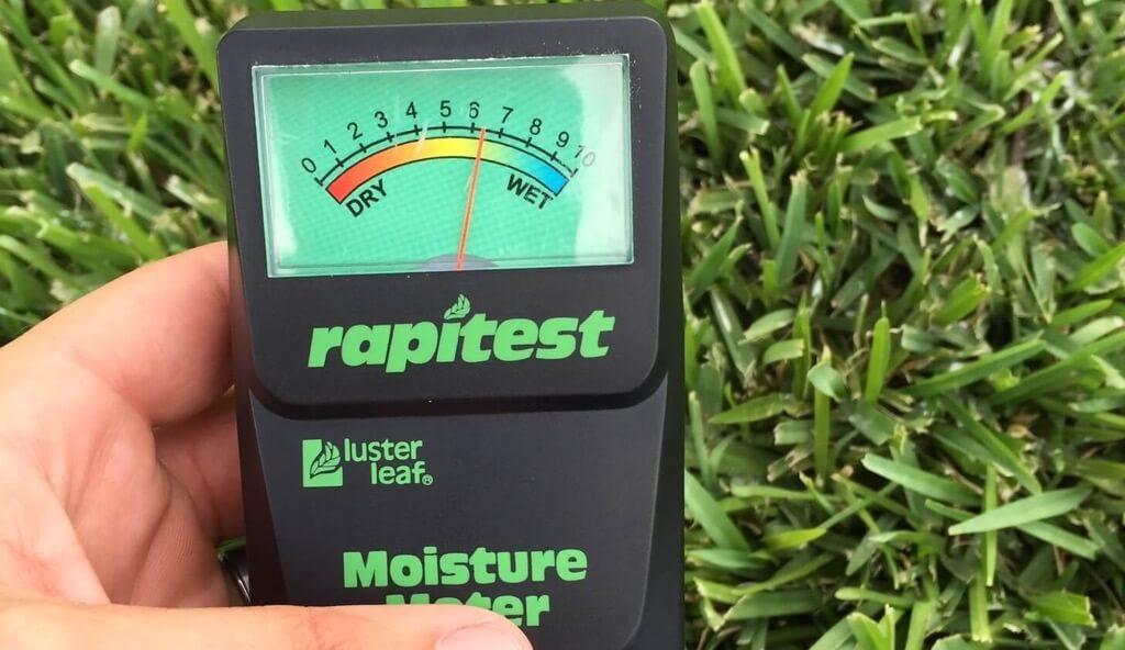 moisture-meter-lawn-analysis